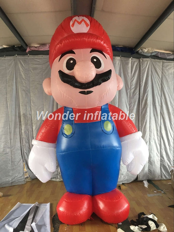 10'H Or 20'H Inflatable Super Mario - Inflatable Fun Warehouse