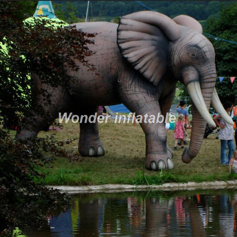 16' Inflatable Elephant - Inflatable Fun Warehouse