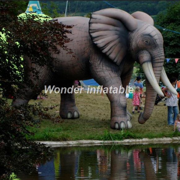 16'H Inflatable Elephant - Inflatable Fun Warehouse