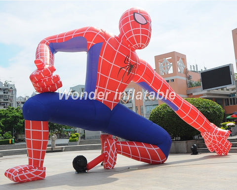 16' Inflatable Spider-Man - Inflatable Fun Warehouse