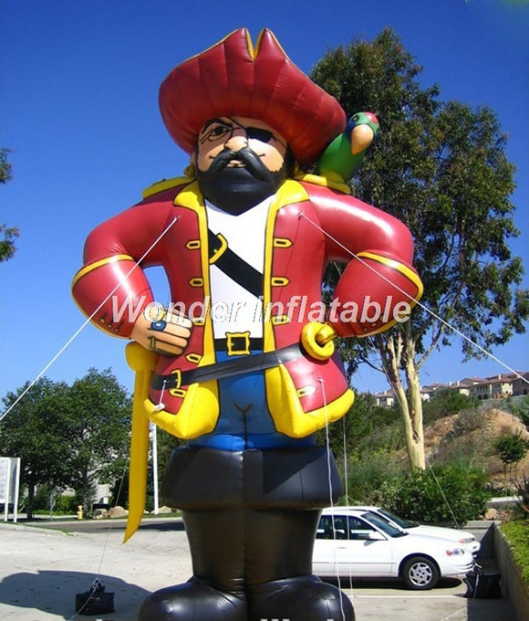 16'H Inflatable Pirate - Inflatable Fun Warehouse