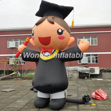 10'H Inflatable Graduate Boy Or Girl - Inflatable Fun Warehouse