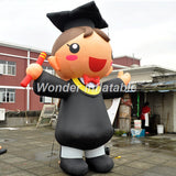 10' Inflatable Graduate Boy Or Girl - Inflatable Fun Warehouse