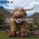 10' Inflatable Bull For Advertising - Inflatable Fun Warehouse