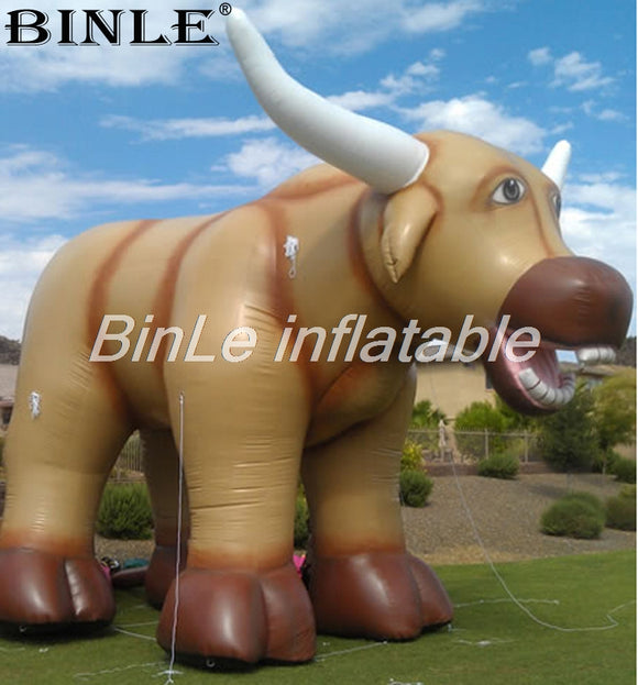 10'H Inflatable Bull - Inflatable Fun Warehouse