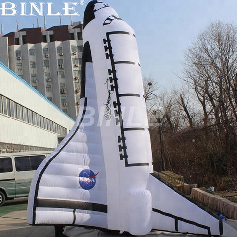20' Inflatable NASA Space Shuttle - Inflatable Fun Warehouse