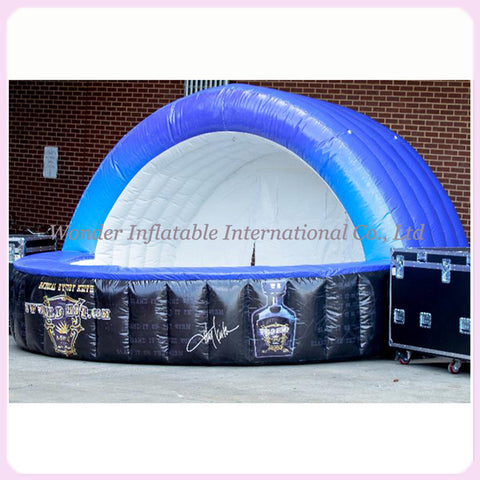 10' Inflatable Trade Show Booth - Inflatable Fun Warehouse