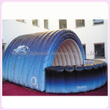 10'Wx10'Dx7'H Inflatable Trade Show Booth - Inflatable Fun Warehouse