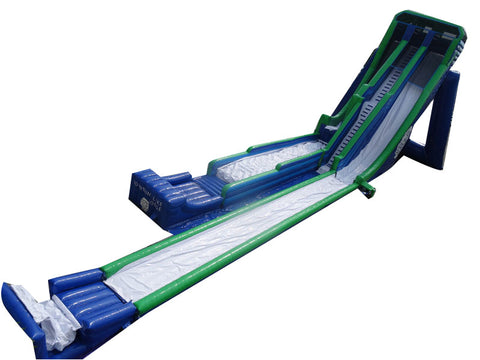 "164' Inflatable SkySlide + Super Landing "" Family Slide"" - Inflatable Fun Warehouse"