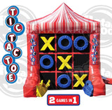 10'H Inflatable 4 Spot / Tic Tac Toe - Inflatable Fun Warehouse