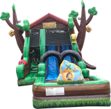 44' Inflatable TreeTop Bounce n' Slide - Inflatable Fun Warehouse