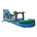 27' Inflatable Tropic Thunder Wet/Dry Slide - Inflatable Fun Warehouse