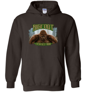 Bigfoot Eyewitness Deep Woods Collection Hooded Sweatshirt (Round) - Dogman Encounters