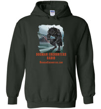 Dogman Encounters Episode 137 Collection Hooded Sweatshirt (vertical design) - Dogman Encounters