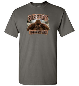 Bigfoot Eyewitness High Sierra Collection T-Shirt (Round) - Dogman Encounters