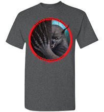 Men's Dogman Encounters Rogue Collection T-Shirt (red border with black font) - Dogman Encounters