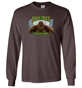 Men's Bigfoot Eyewitness Deep Woods Collection T-Shirt (Round) - Dogman Encounters