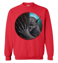 Dogman Encounters Rogue Collection Crew Neck Sweatshirt (no border with red font) - Dogman Encounters