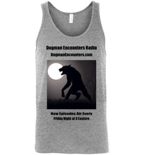 Men's Dogman Encounters Stalker Collection Tank Top (black font) - Dogman Encounters