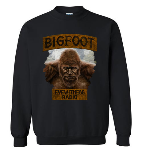 Bigfoot Eyewitness High Sierra Collection Crew Neck Sweatshirt (Round)