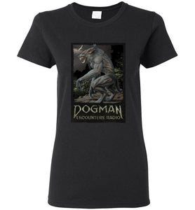 Ladies Dogman Encounters Legends Collection T-Shirt (design 2)