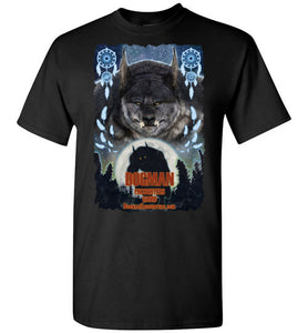 Men's Dogman Encounters Pathfinder Collection T-Shirt (design 3, with ripped border) - Dogman Encounters