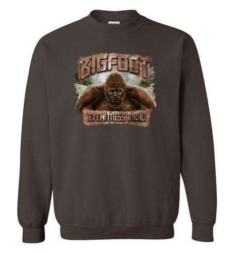Bigfoot Eyewitness High Sierra Collection Crew Neck Sweatshirt