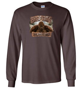 Men's Bigfoot Eyewitness High Sierra Collection Long Sleeve T-Shirt