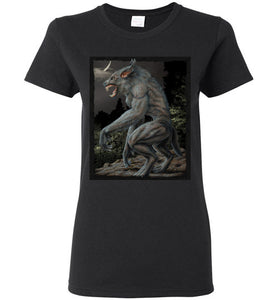 Ladies Dogman Encounters Legends Collection T-Shirt