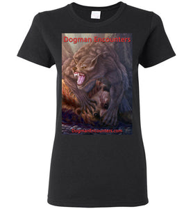 Ladies Dogman Encounters Apex Collection T-Shirt - Dogman Encounters