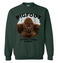 Bigfoot Eyewitness Deep Woods Collection Crew Neck Sweatshirt (Round)