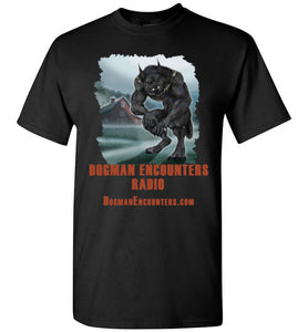 Men's Dogman Encounters Episode 137 Collection T-Shirt (vertical design) - Dogman Encounters