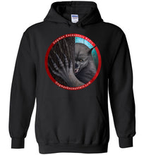 Dogman Encounters Rogue Collection Hooded Sweatshirt (red border with white font) - Dogman Encounters