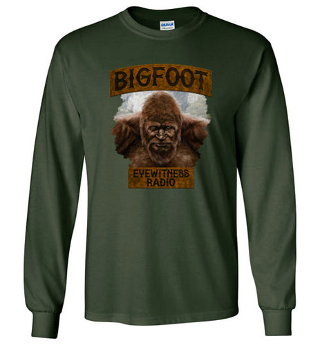 Men's Bigfoot Eyewitness High Sierra Collection Long Sleeve T-Shirt (Round)