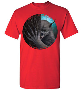 Men's Dogman Encounters Rogue Collection T-Shirt (round with no border) - Dogman Encounters