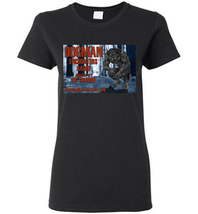Ladies Dogman Encounters Episode 137 Collection T-Shirt - Dogman Encounters
