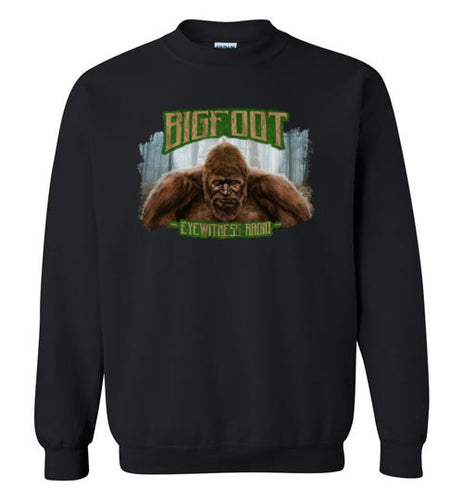 Bigfoot Eyewitness Deep Woods Collection Crew Neck Sweatshirt