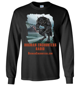 Men's Dogman Encounters Episode 137 Collection Long Sleeve T-Shirt (vertical design) - Dogman Encounters