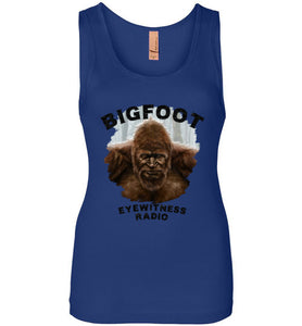 Women's Bigfoot Eyewitness Deep Woods Collection Tank Top (Round)