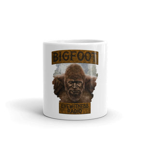 Bigfoot Eyewitness High Sierra Collection White Mug