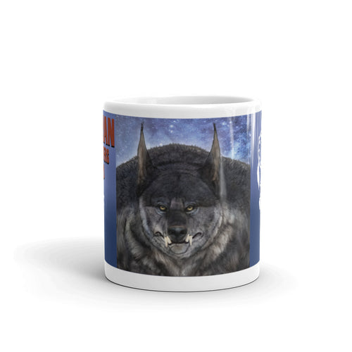 White Glossy Dogman Encounters Pathfinder Collection Mug (design 1) - Dogman Encounters