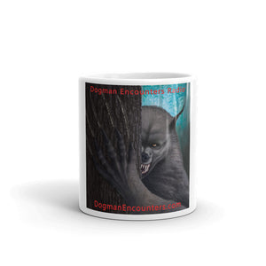 Dogman Encounters Rogue Collection White Mug - Dogman Encounters