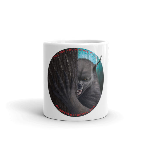 Dogman Encounters Rogue Collection White Mug (no border) - Dogman Encounters