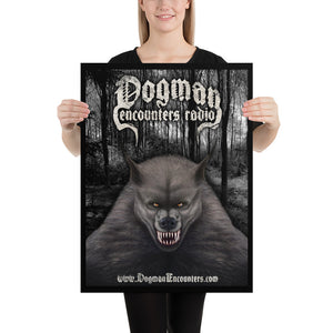 "Dogman Encounters Canis Hominis Collection 18""x24"" Poster"