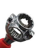 Lord Of The Wrench 48 in 1 Tools Socket Works with Spline Bolts Torx 360 Degree 6-Point Universial Furniture Car Repair