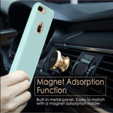 Soft Microfiber Case for iPhone Models MAGNETIC