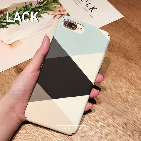 Colorful Geometric Case For iPhone