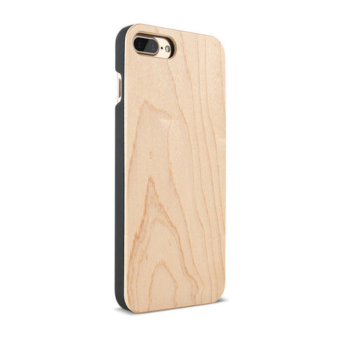 Natural Wood Hard Case For iPhone
