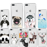 Animals Silicone Cases for iPhone
