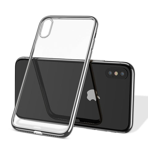 Luxurious Transparent Case For iPhone X